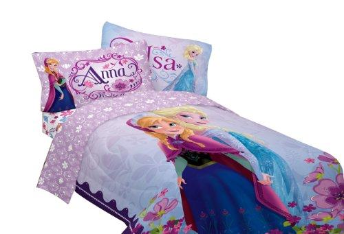 "Lowest Price! Disney 64 by 86"" Frozen Celebrate Love Comforter, Twin"