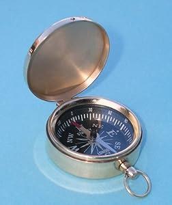 Brass Scouting Pocket Compass