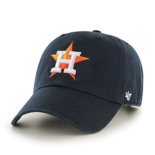 47-Erwachsene-Mlb-Houston-Astros-Clean-Up-Kappe-Navy-OSFA