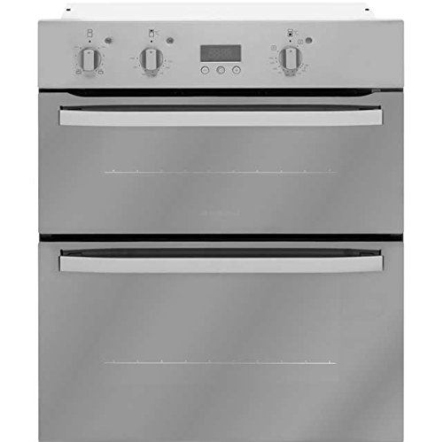 Hotpoint Privilege UHA83CX Built Under Double Oven - Stainless Steel Look. It Will Perfeclty Look Great Built Into Your Kitchen
