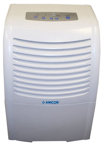 Image of Amcor AHD65E 65-Pint Dehumidifier with Electronic Controls (AHD-65E)