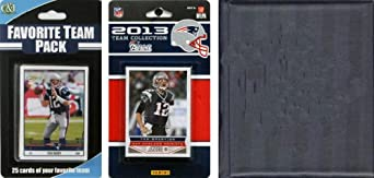 NFL New England Patriots Licensed 2013 Score Team Set and Favorite Player Trading... by C&I Collectables