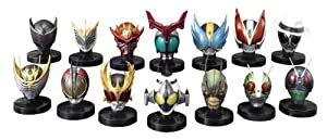 Kamen Rider Mask Collection - Best Selection [Movie Ver.] (8pcs)