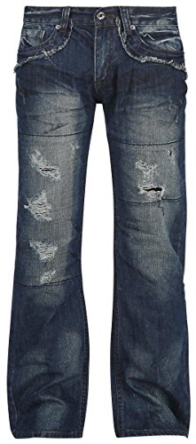 Forplay Salomon Jeans blu scuro W40L34