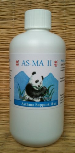 Asthma, Hayfever, Allergy Support: Asma Formula. 8 Oz Bottle. Safe Use for Over 20 Years. Kid Safe Too.
