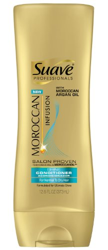 Suave Professionals Moroccan Infusion Shine Conditioner, 12.6 Ounce (079400257512)