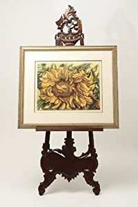 Mahogany Picture Frame Easel
