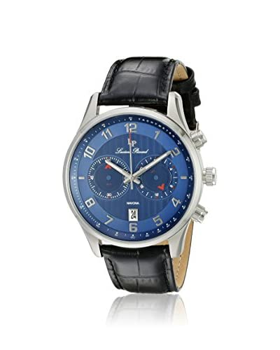 Lucien Piccard Men's LP-11187-03 Navona Blue/Black Leather Watch