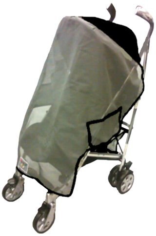 Sashas Sun, Wind and Insect Cover for Hauck Malibu Single Stroller