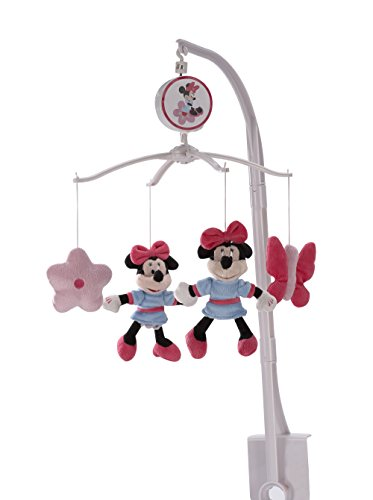 Disney Minnie's Garden Musical Mobile - 1