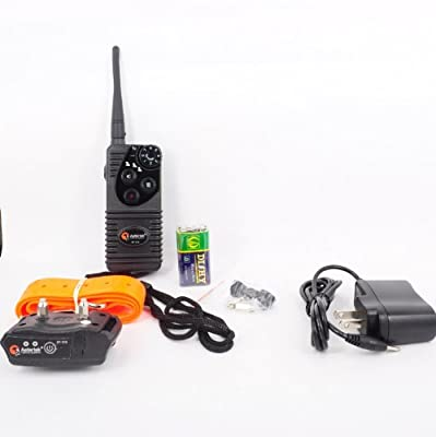 Aetertek AT-216 Professional Rechargeable 600 Yard Remote Dog Training Shock Collar,Beep ,Vibrate and 7 Levels