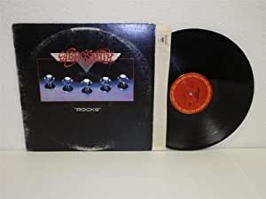 Aerosmith Quot Rocks Quot Lp Columbia 34165 Vinyl Album Back In