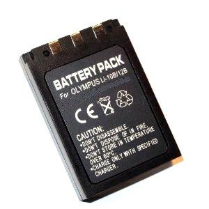 Maxsimafoto - Li-10B LI10B Li-12B LI12B, High Power 1500mAh Lithium Li-on Battery for Olympus C-50, C-60, C-70, C-470, C-760, C-765, C-770, C-5000, C-7000, D-590, IR-500, Digital µ-15 , µ-20 , µ-25 , µ-40 , 300, 400, 410, µ-410, 500, 600, mjµ-10, mjµ-20, mjµ-300, mjµ-400, mjµ-410, mjµ-800, mjµ-810, mjµ-1000, mjµ-Ferrari, MJU 10, 20, 300, 400, 410, 800, 810, 1000, Ferrari, X, X-1, X-2, X-3, X-500