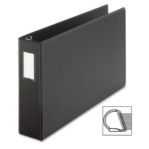 easyopen-slant-d-tabloid-reference-binder-11-x-17-3-capacity-black-by-cardinal-health