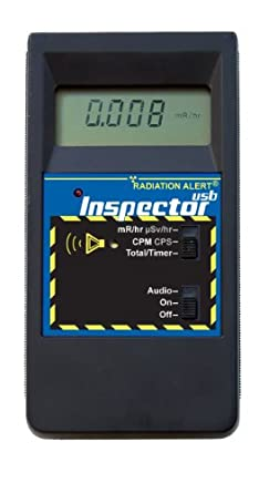 Radiation Alert Inspector USB Handheld Digital Radiation Detector with LCD Display