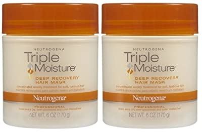 Neutrogena Clean Replenishing Deep Recovery Hair Mask, 6 oz, 2 pk