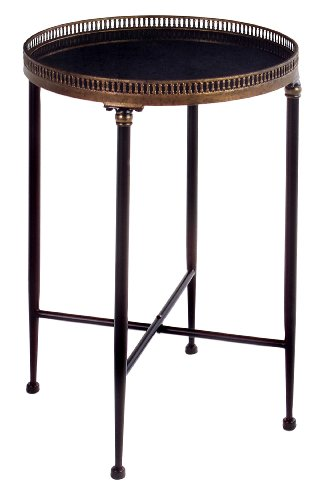 Image of Bella Round Accent Table - End Table (am1057)