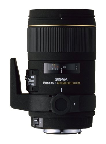 Sigma 150mm f2.8 APO EX DG HSM Macro Lens For Canon Digital  &  Film SLR Cameras