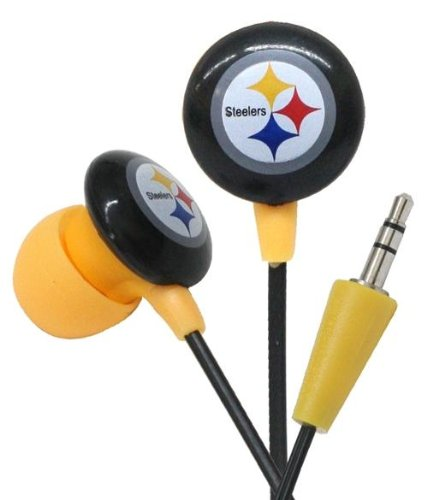 Pittsburgh Steelers iHip NFL Earphones - Ear Buds - Headphones at Amazon.com