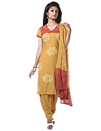 NITARA Women's Cotton Stitched Salwar Suit Sets - B01AJK6PVS