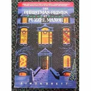 Christmas Crimes at Puzzel Manor by Simon Brett
