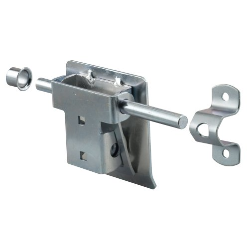 Prime-Line Products Gd 52241 Garage And Shed Latch, Tamper Proof With Fastners, Heavy Duty Steel front-1024677