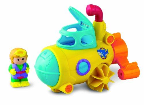 Happy Kid Toy Group 3-in-1 Bathtub Transport Submarine