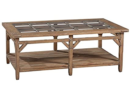 1-4100 Sutton's Bay Primitive Rectangular Coffee Table