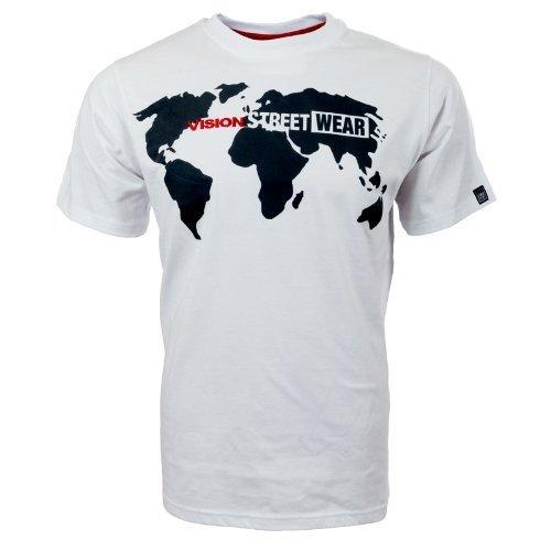 Vision Street Wear World Vision T-Shirt , weiß