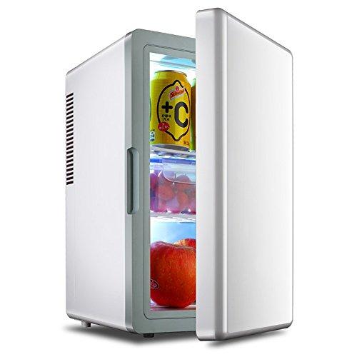 HOME UK- 16 litres Mini frigo réfrigérateur réfrigération voiture Portable / Chauffage Réfrigérateur ( couleur : Blanc )