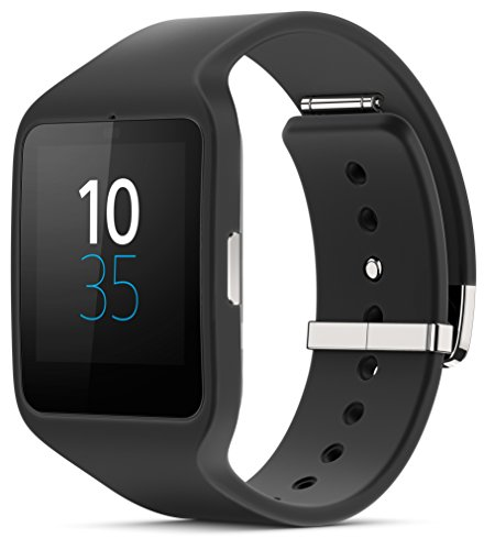 "Sony Smartwatch 3 Classic - Smartwatch Android de 1.6"" (4 GB, Quad-Core 1.2 GHz, 512 MB RAM), color negro"