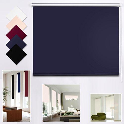 Shiny home moderne verdunkelungrollo jalousie rollos bxl - Schlafzimmer dunkelblau ...