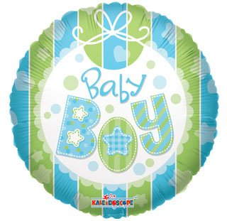 "18"" Foil Balloon, Baby Boy (1 Ct)"
