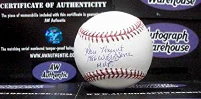 Ray Knight autographed baseball (New York Mets World Series Champions) inscribed 1986 WS MVP AW Certificate of Authenticity Hologram OMLB