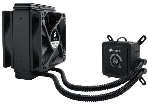 Corsair Hydro Series H80 High Performance Liquid CPU Cooler (CWCH80) (H100 Water Cooler compare prices)