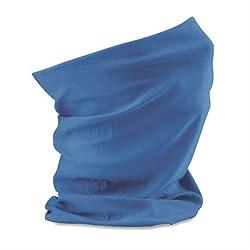 Multifunction Neckwarmer, Snood, Hat, Scarf and Hood in Cobalt blue by Monogram