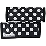 CityGrips Small Single Bar Grip Sleeve Covers For Stroller, Pram, And Buggy Handlebars - Polka Dot