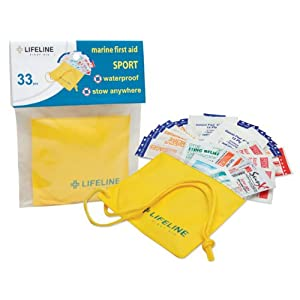 Lifeline 33-Piece Marine Sport First Aid Kit