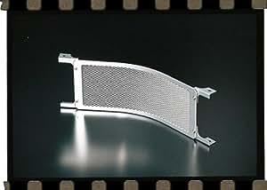 プロト(Plot) オイルクーラーコアガード [ラウンド] 9段用 シルバー(アルマイト) RG901