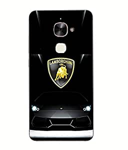 LE ECO LE 2 Printed Back Case Cover By Snazzy