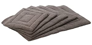 House of Paws Berber Fleece Dog Mat/Cage Mat, Large, 35.8x24-inch