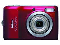 Nikon Coolpix L20 10MP Digital Camera with 3.6 Optical Zoom and 3 inch LCD (Deep Red)
