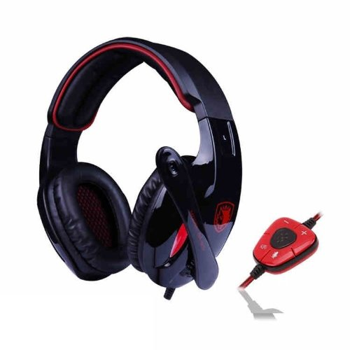 Versiontech Latest Version Sades Sa-902 7.1 Surround Sound Effect Usb 3.5Mm Pc Gaming Stereo Headset Headphone Earphones With Mic For Laptop Computer Notebook Ps4