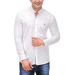 Fender Zone Men's Casual Shirt - 21145_White_42