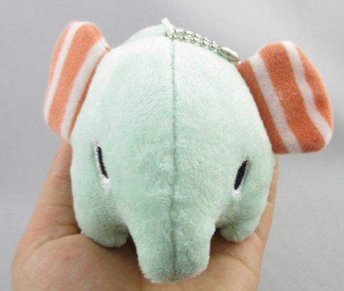 "Cute Sentimental Circus Elephant Plush Toy Bag Charms San-x Rilakkuma Doll 4"""