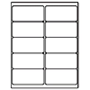 avery 4x2 labels amazoncom 100 sheet pack 1000 labels total standard