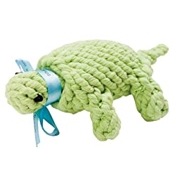 Jax and Bones Good Karma Rope Toys Ted the Turtle - Small