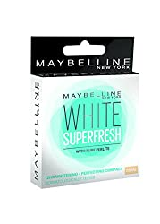 Maybelline New York White Super Fresh Compact Coral, 8g