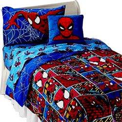 spiderman frames comforter twin bedding home