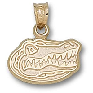 University of Florida Dangle Pendant - Gator Head 3/8""